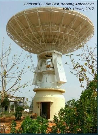 Comsat Systems Pvt Ltd - Fast-tracking Antenna at ISRO
