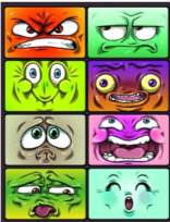 different moods by different thougths