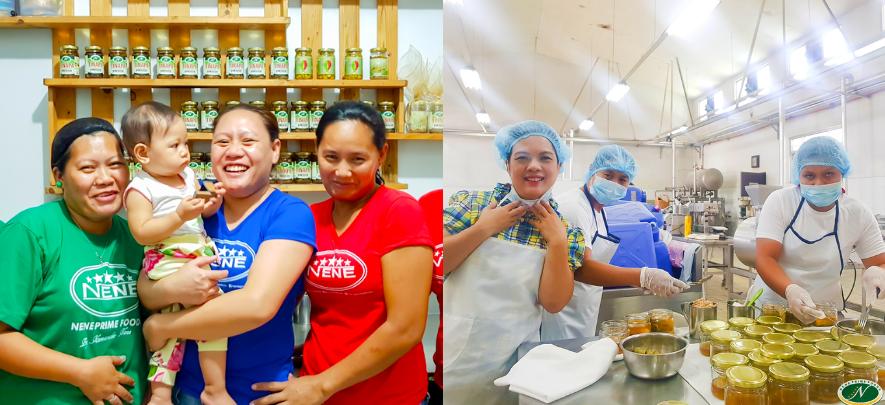 Nene Prime Foods women employees