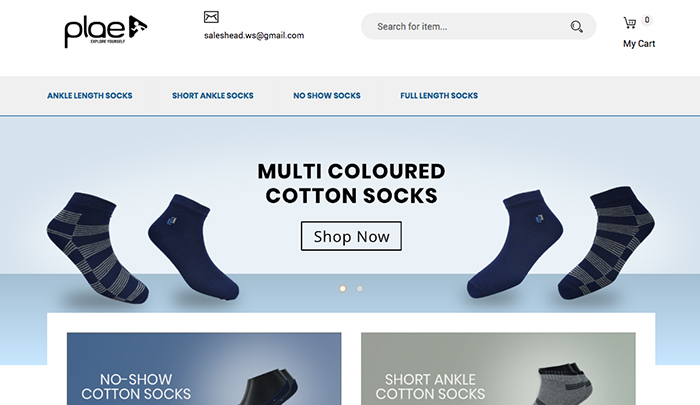 Plae Socks Home Page