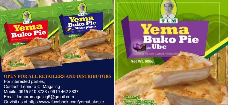 TLM Yema Buko Pie