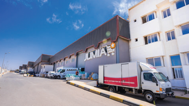 Jumia Warehouse in Casablanca (Morocco)