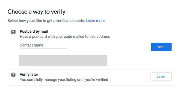 Verify Step