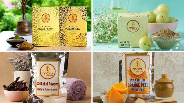 Matru Ayurveda is founded by Shweta Khandelwal and their products are completely natural