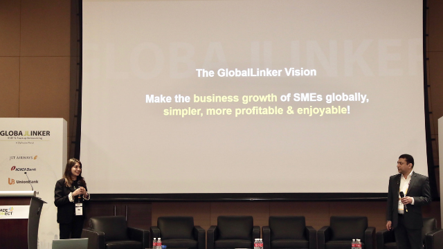 Summi Gambhir Chief Experience Officer GlobalLinker and Sameer Vakil CEO & Co-founder GlobalLinker