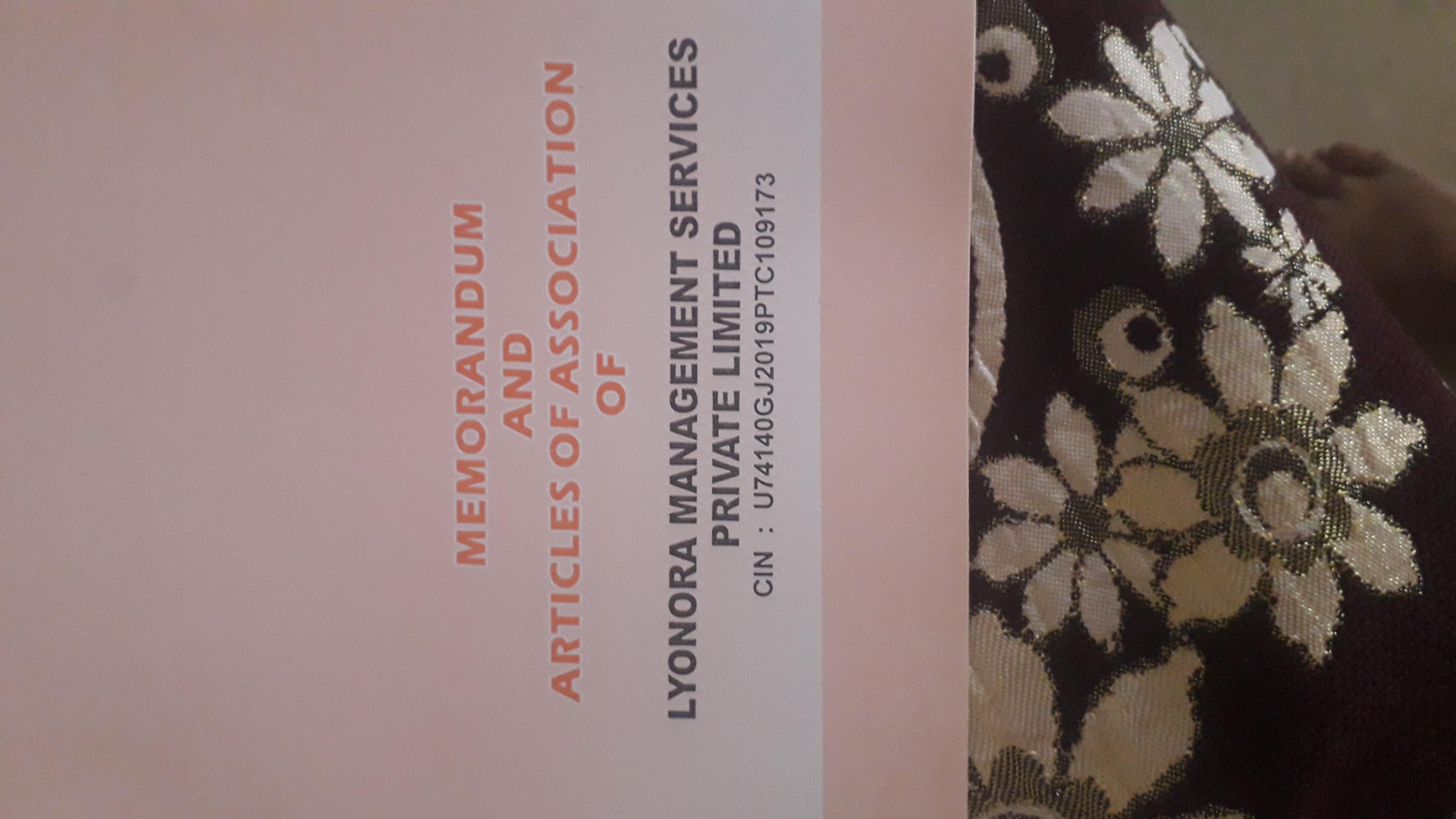 Lyonora manegmant service privet limited